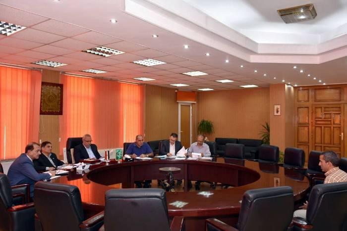 محافظ الشرقية يترأس لجنة سكرتير مدينة ههيا