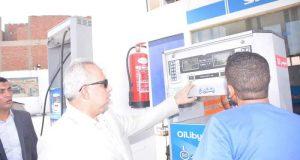 محافظ الشرقيةيتفقد عدداً من محطات الوقود بمدينة الزقازيق
