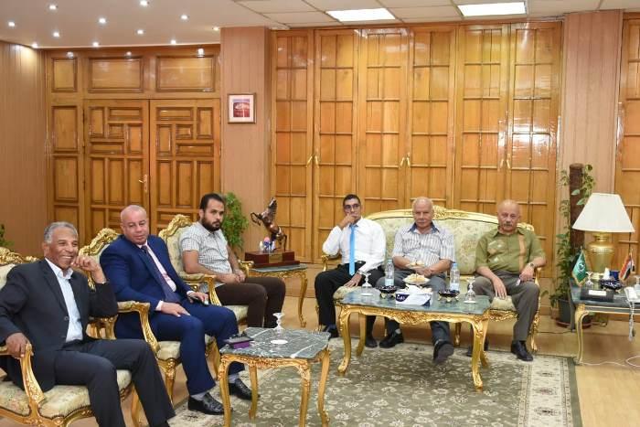 محافظ الشرقية يستقبل مدير الأمن وأعضاء مجلس النواب