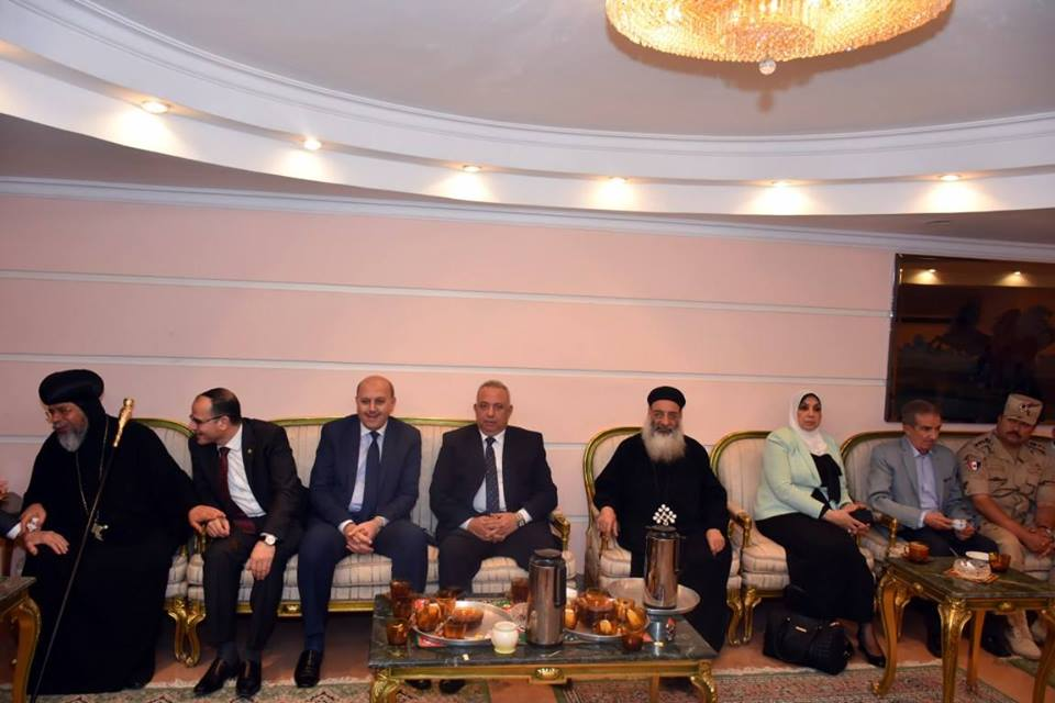الشرقية يشارك جامعة الزقازيق حفل الافطار بحضور عدد من الوزراء
