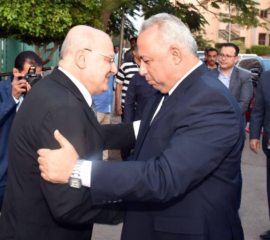 الشرقية يشارك جامعة الزقازيق حفل الافطار بحضور عدد من الوزراء2