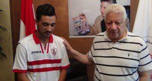 مرتضى منصور مع إبراهيم حسن