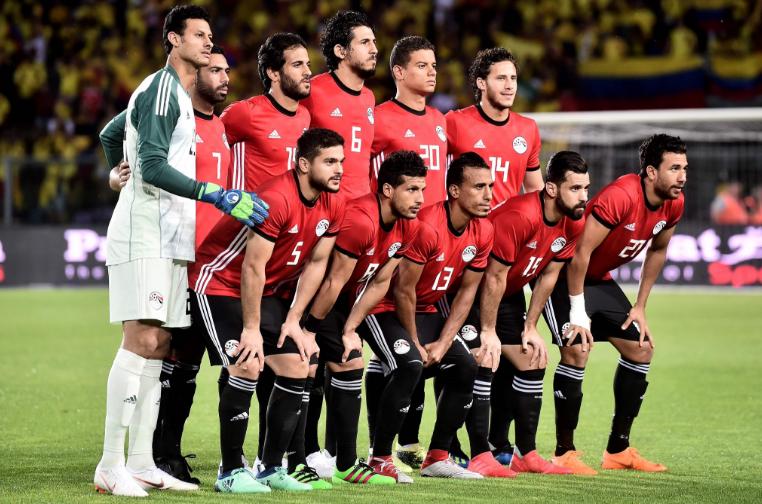 مصر تتعادل مع كولومبيا