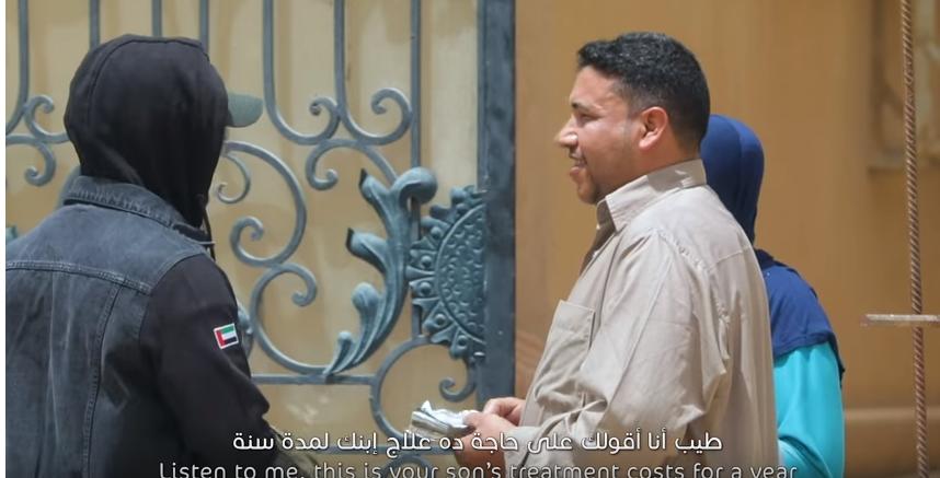 مفاجأة مبهرة لحارس عقار مصري ببرنامج قلبي اطمأن