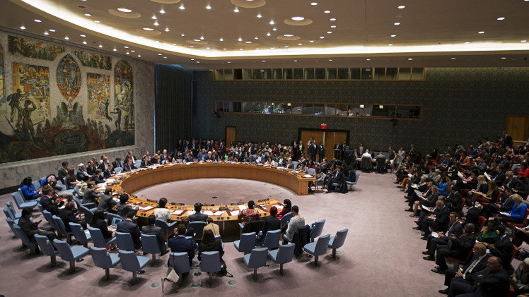 واشنطن ترفض مشروع قرار عربي