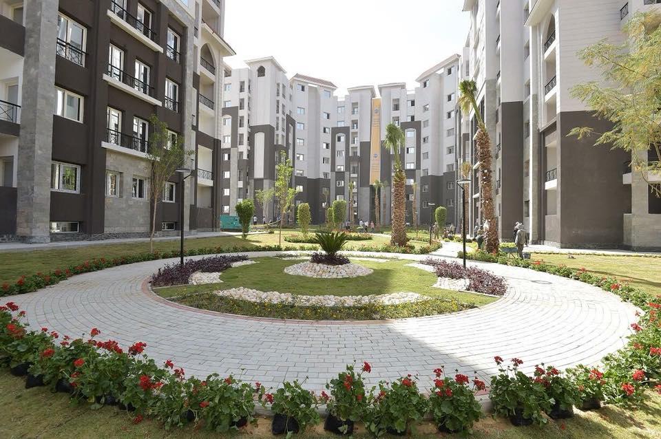 وحدات الحي السكني بالعاصمة الإدارية الجديدة