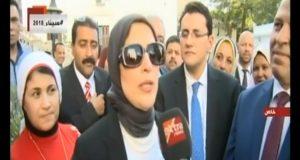 وزيرة الصحة بعد حلفها اليمين الدستوري