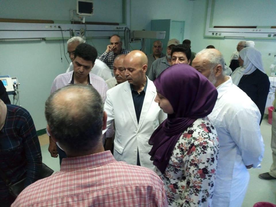 صحة الشرقية يجازي تمريض مستشفى ديرب نجم 1