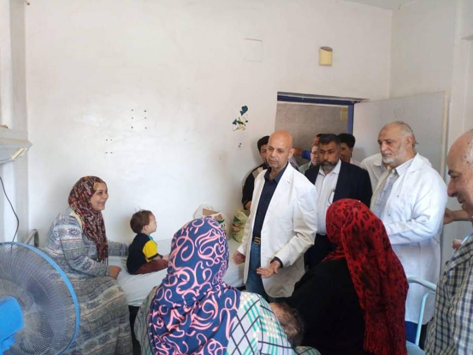 صحة الشرقية يجازي تمريض مستشفى ديرب نجم 4