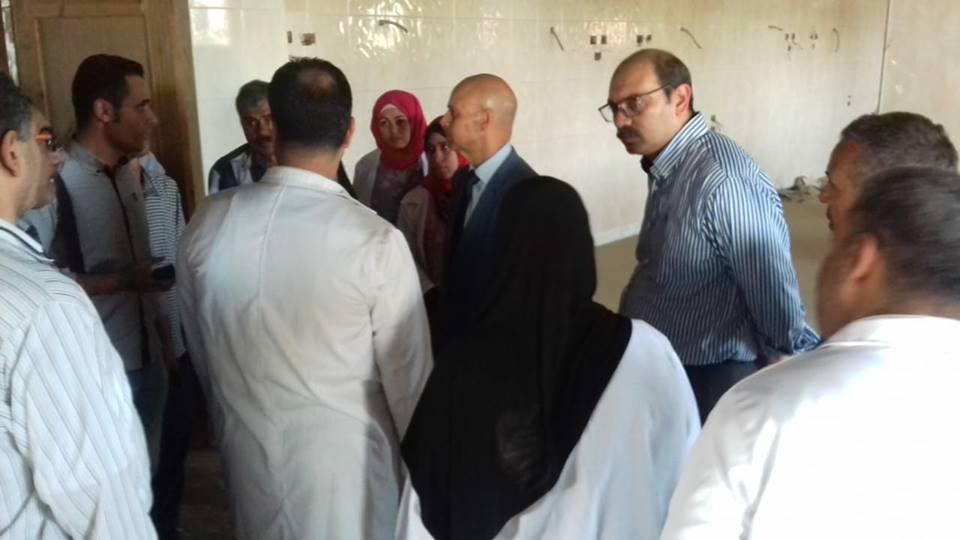 صحة الشرقية يعقد اجتماع بمجلس مدينة القنايات2