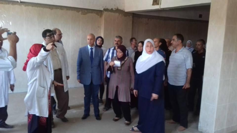 صحة الشرقية يعقد اجتماع بمجلس مدينة القنايات4