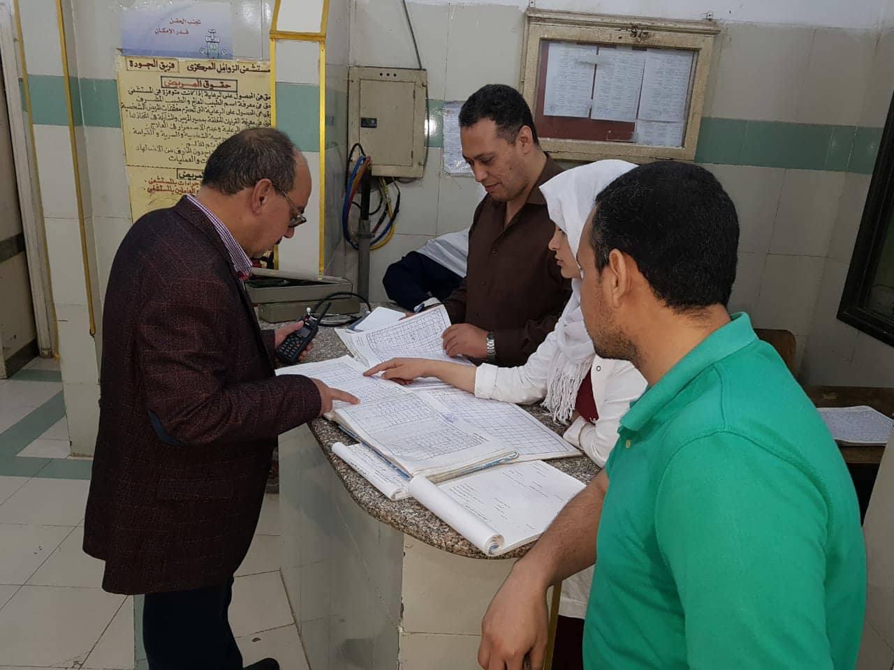 وكيل صحة الشرقية يقرر إحالة طبيب بمستشفى مشتول السوق للتحقيق