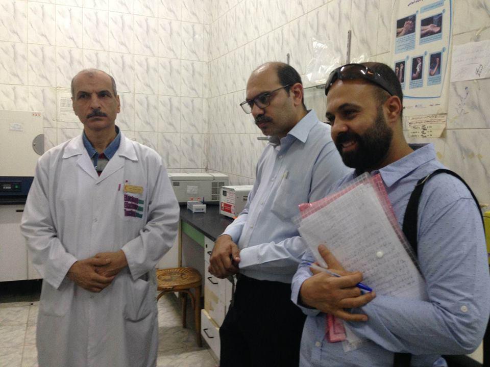 مدير إدارة المستشفيات يتفقد مستشفى الصدر بالزقازيق