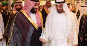 ولي العهد السعودي يستقبل ولي عهد أبوظبي