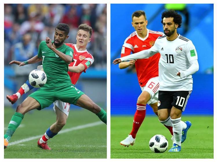 مباراة مصر و السعودية