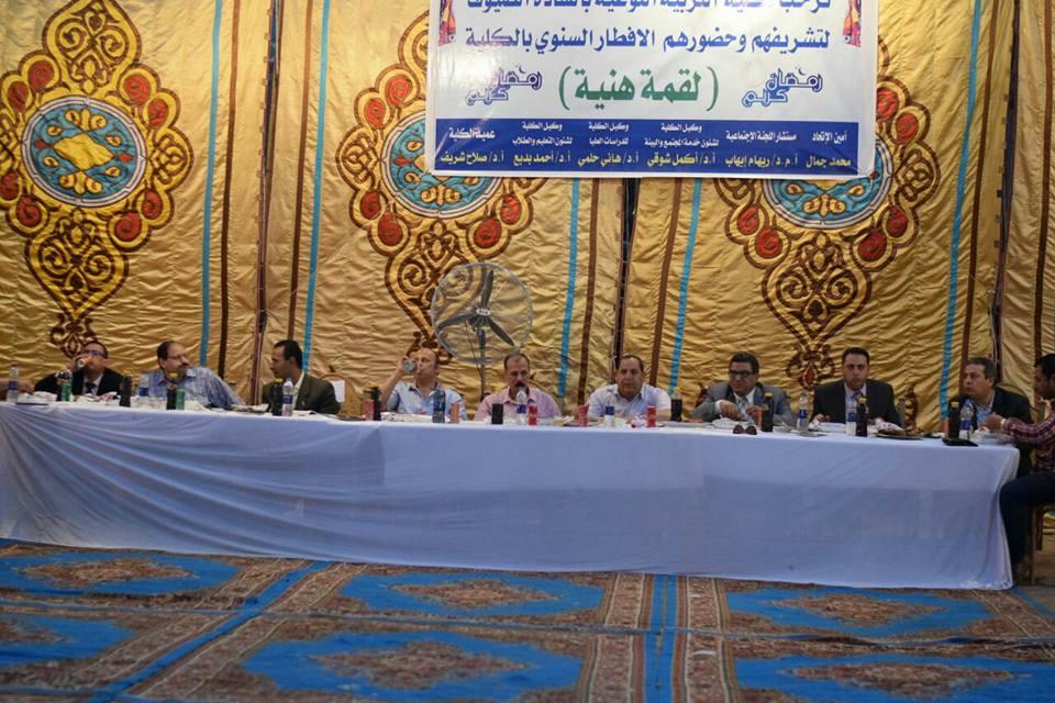 «لقمة هنية»حفل إفطار جماعي ينظمه طلاب تربية نوعية
