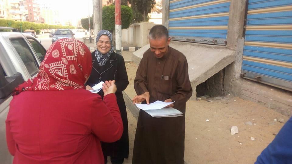 رئاسة مركز ومدينة فاقوس تقدم خدمات وبرقيات معايدة للأهالي