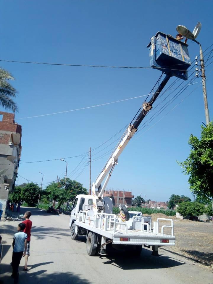 حملات لمتابعة أعمال الصيانة بالوحدات المحلية