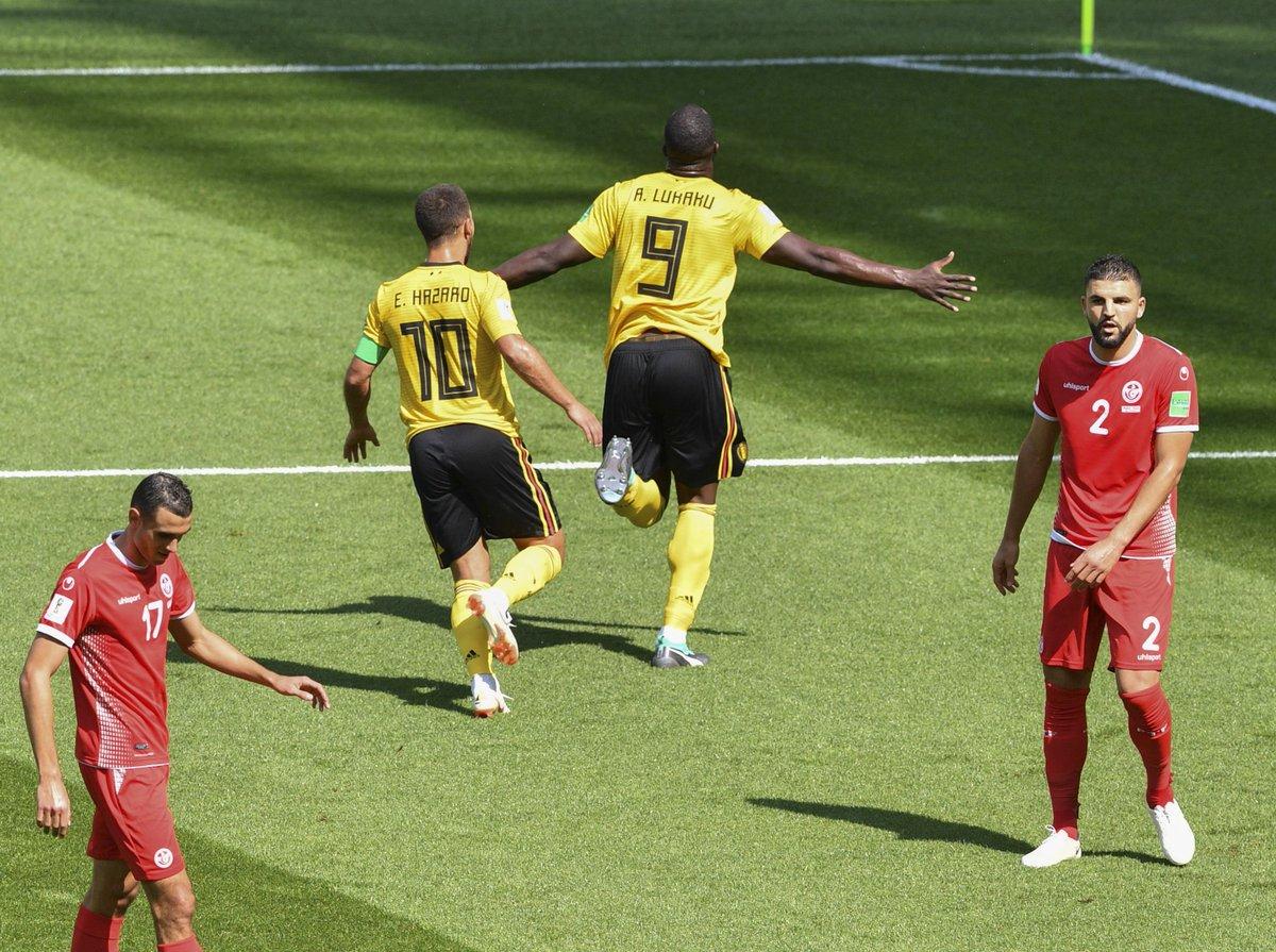 بلجيكا تكتسح تونس بخماسية