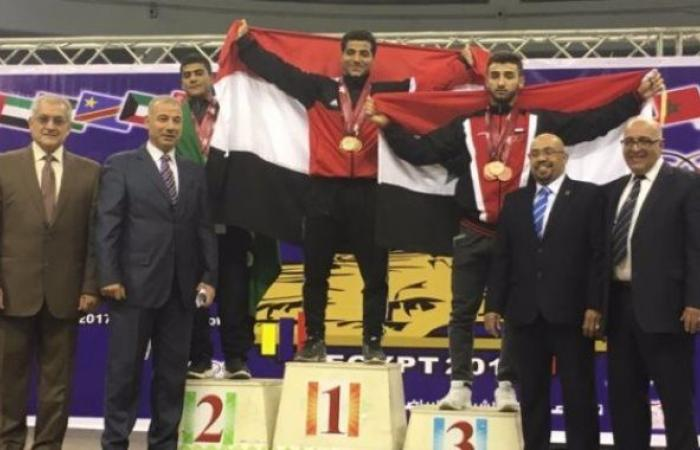 إسماعيل هلال يحصد 3 ذهبيات فى الألعاب الأفريقية