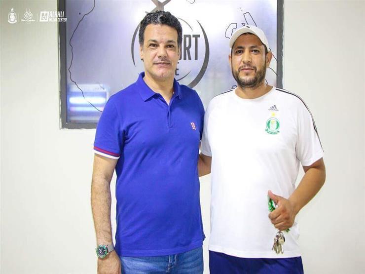 إيهاب جلال لاعبي الأهلي يرحبون بأهلي طرابلس