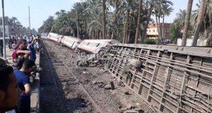 النيابة العامة بشأن حادث قطار البدرشين