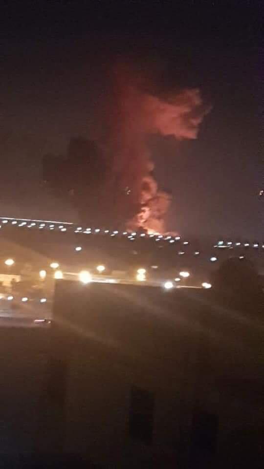 انفجار محيط مطار القاهرة