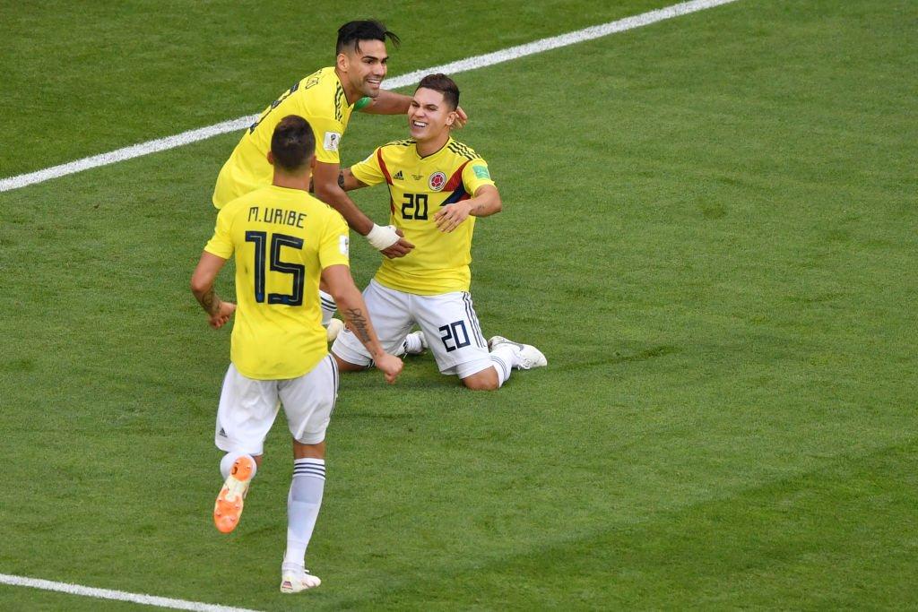 بث مباشر مباراة كولومبيا وإنجلترا