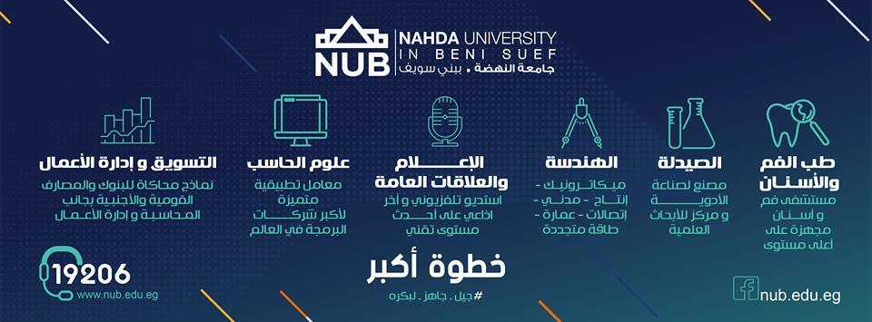 كليات جامعة النهضة ببني سويف