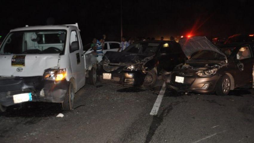حادث على طريق «أبوكبير الزقازيق»