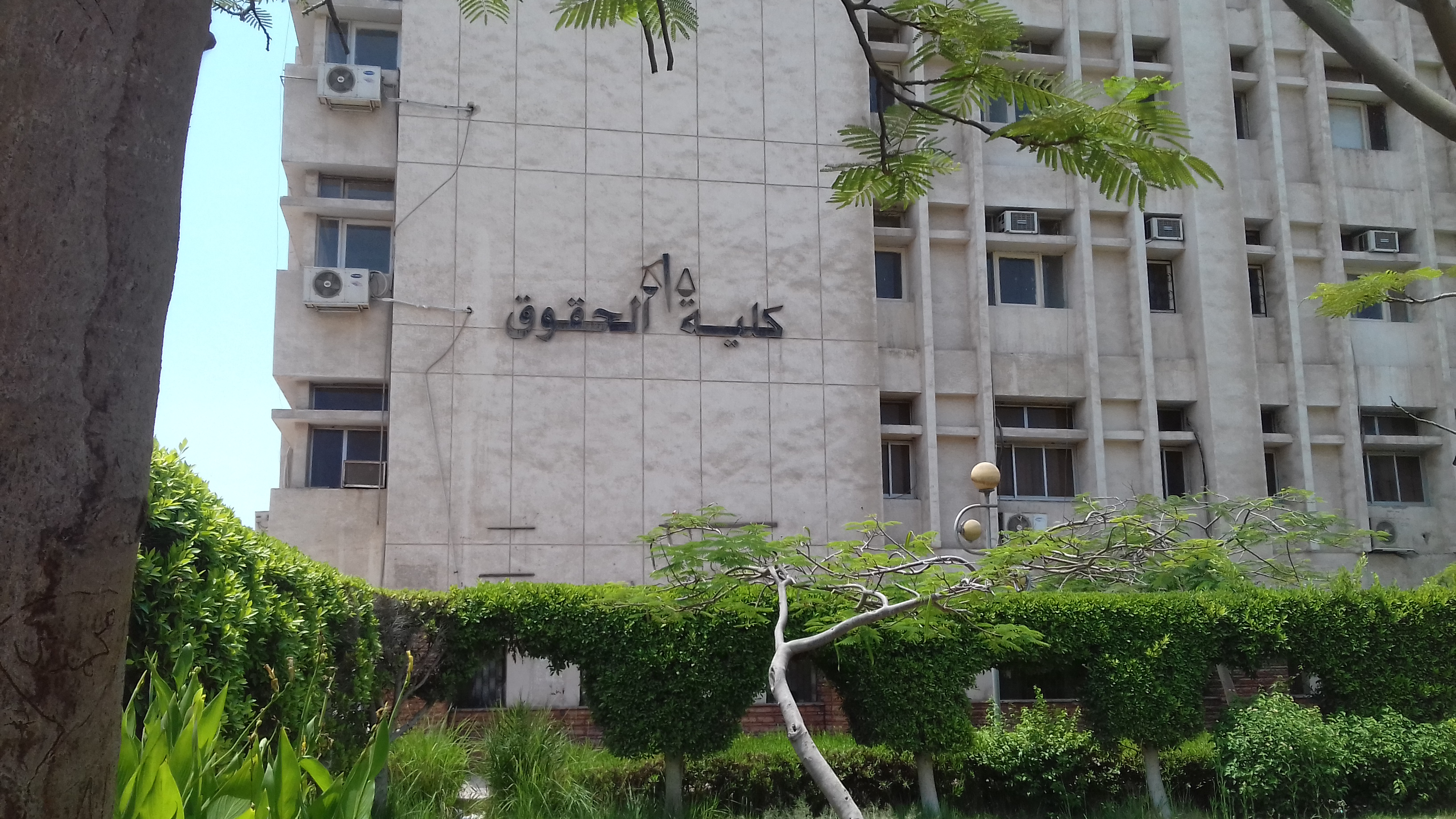 كلية الحقوق جامعة الزقازيق