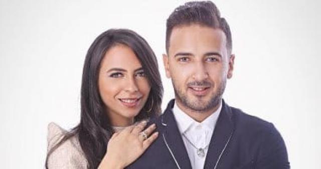خطوبة الفنان محمد مهران والمخرجة مي عبد الحافظ