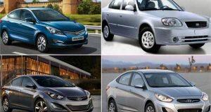 سيارات «هيونداي» و«شيري» و«مازدا»