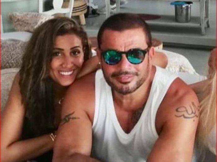 عمرو أديب يعلق على زواج عمرو دياب