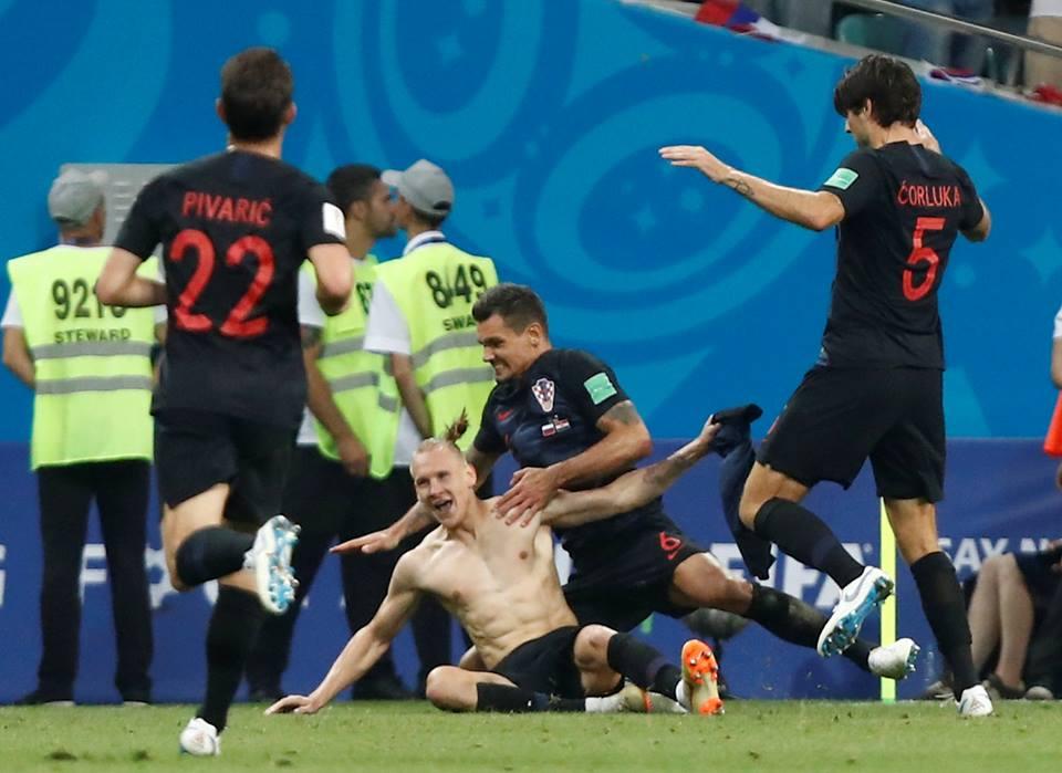 كرواتيا تفوز على روسيا