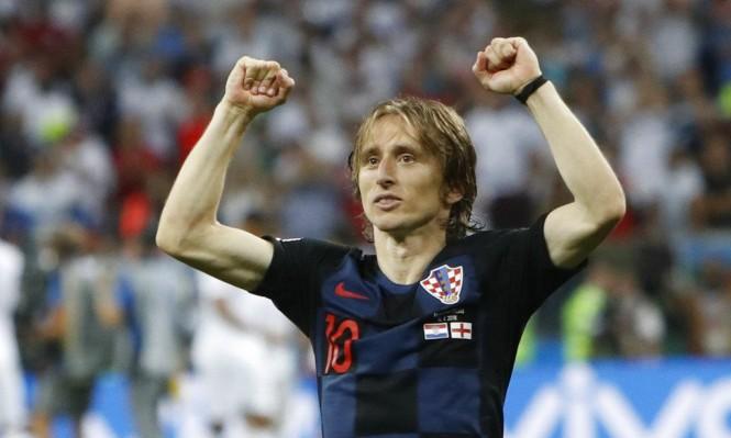 لوكا مودريتش أفضل لاعب في كأس العالم