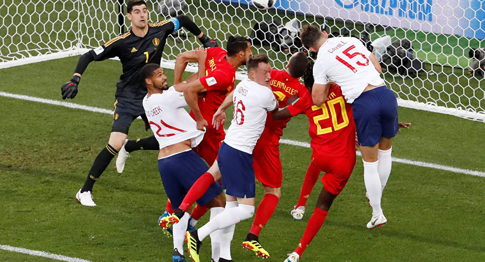 مباراة إنجلترا وبلجيكا