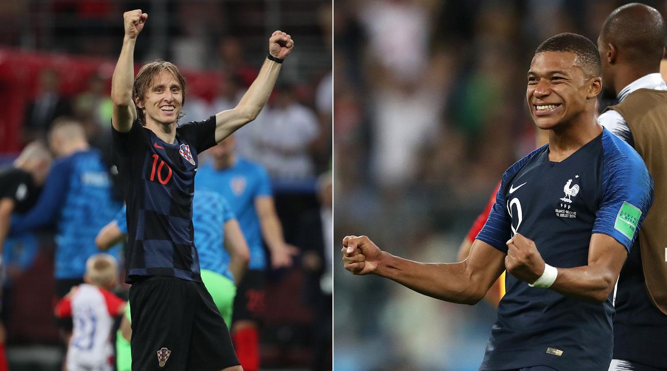 مباراة فرنسا وكرواتيا