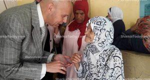 مستشفى الزقازيق العام تفتح أبوابها لعلاج نزلاء دار بسمة للإيواء بالمجان