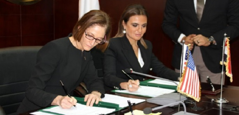 توقيع اتفاقيات بين مصر والولايات المتحدة