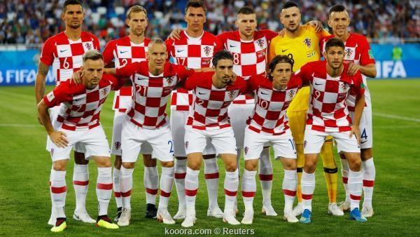 أسماء لاعبي منتخب كرواتيا بـ «إيتش»