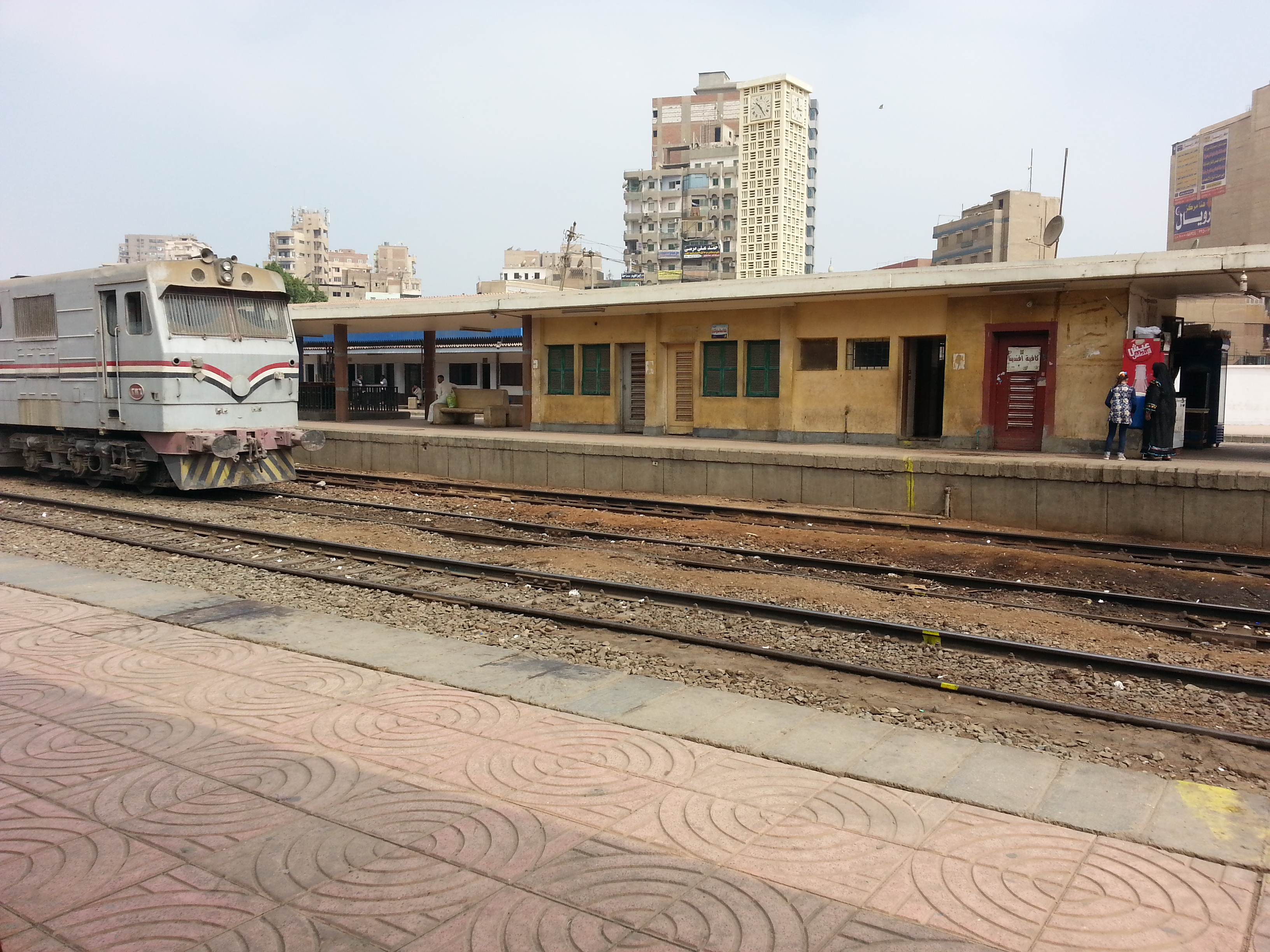 مواعيد قطارات القاهرة فايد 2018