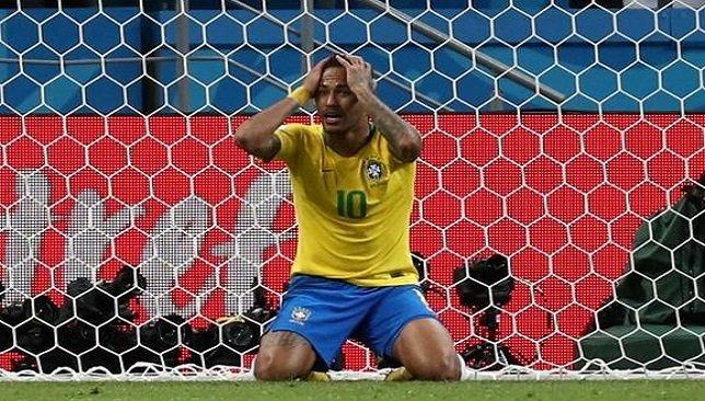 نيمار بعد خروج البرازيل من كأس العالم