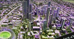 الإسكان عن أطول برج بإفريقيا