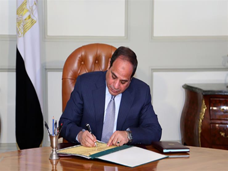 السيسي يصدق على قانون إنشاء صندوق مصر