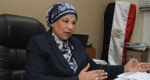 الدكتورة سامية حسن رئيس مصلحة الضرائب العقارية