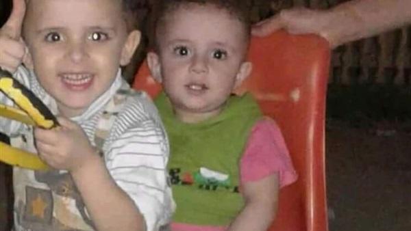 العثور على جثتي طفلي ميت سلسيل المختطفين