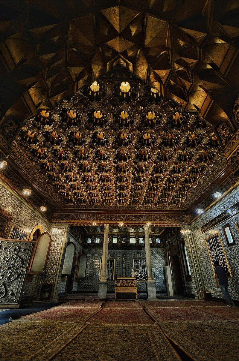 المسجد في قصر الأمير محمد علي