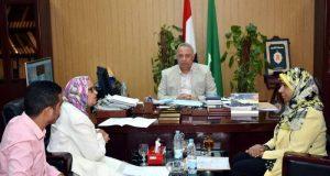تخصيص مكتب لشئون الشباب بديوان عام المحافظة