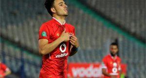صلاح محسن ينفرد بصداره هدافي الدوري المصري